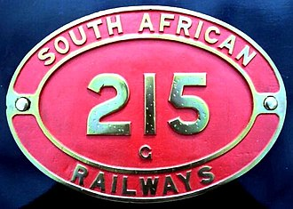 South African Class G 4-8-2T - Image: Class G no. 215 ID