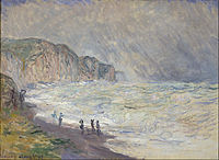 Claude Monet - Heavy Sea at Pourville - Google Art Project.jpg
