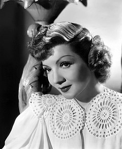 Claudette Colbert was the first European-born actress (France) to win this award for her role in It Happened One Night (1934) Claudette colbert.jpg