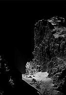 Cliffs of Comet 67P
