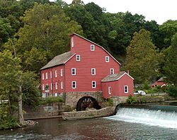 The Historic Red Mill of Clinton
