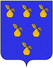 Stemma della famiglia Peruzzi di Firenze.