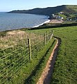 Coast path near Hallsands - geograph.org.uk - 1490842.jpg
