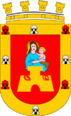 Coat of arms of Colón Department
