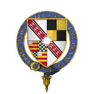 Richard Wingfield - Coat of arms of Sir Richard Wingfield, KG