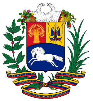 The Coat of arms of Venezuela