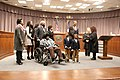 Cobb County Commissioner Lisa Cupid's 2017 swearing-in ceremony 01.jpg