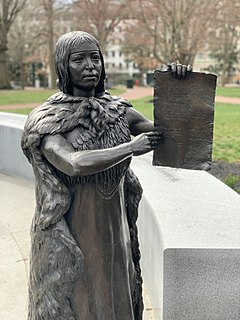 Cockacoeske Chief of the Pamunkey tribe