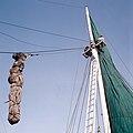 Collectie NMvWereldculturen, TM-20028104, Dia, 'Buginese prauw in de haven Sunda Kelapa', fotograaf Henk van Rinsum, 1980.jpg