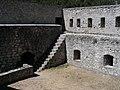 Colmars - Fort de Savoie, cour intérieure.JPG