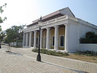 Tharangambadi - A restored colonial house in Tranquebar