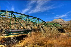 National Register of Historic Places listings in Mesa County, Colorado - Image: Colorado River Bridge