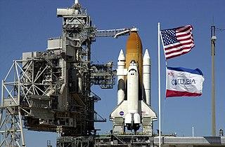 Space Shuttle <i>Columbia</i> Space shuttle orbiter