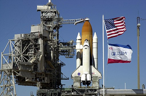 Columbia STS-109 preparing for launch