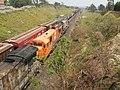 Comboios em cruzamento no pátio Itaici em Indaiatuba - Variante Boa Vista-Guaianã km 223 - panoramio.jpg