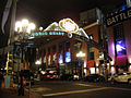 Comic-Con 2010 - the Gaslamp District at night (4875053212).jpg