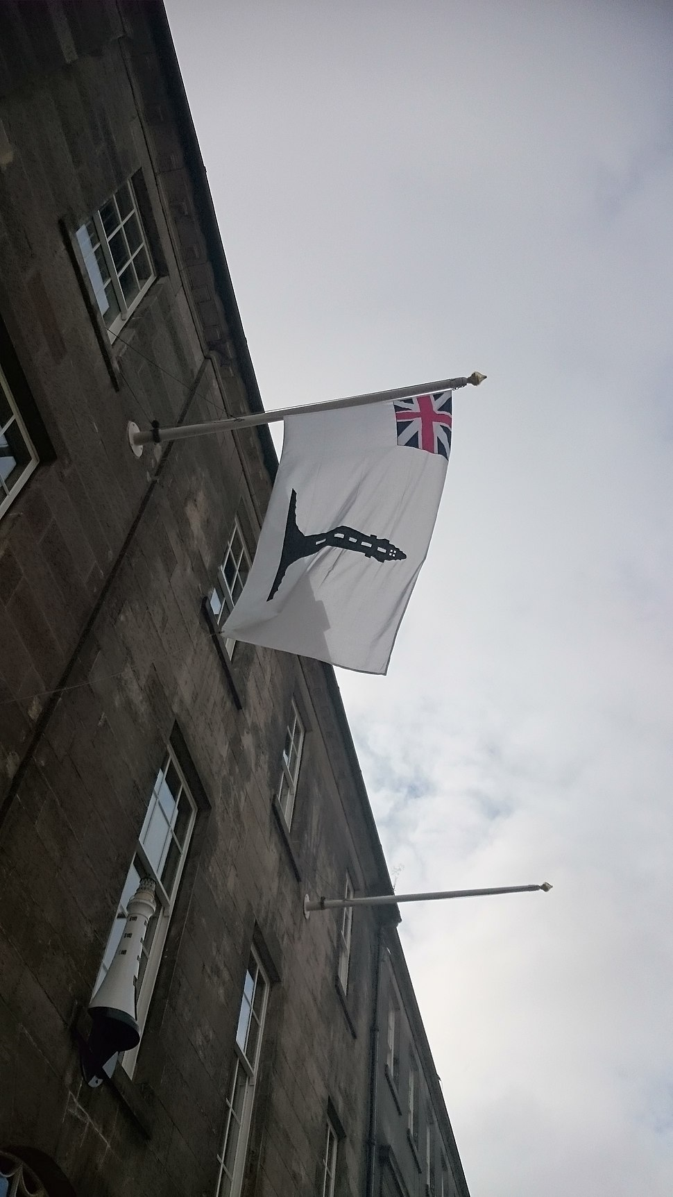 Commissioner's Ensign. Northern Lighthouse Board