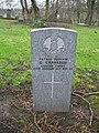 Commonwealth War Grave in Jarrow Cemetery (WW1-09) - geograph.org.uk - 1603428.jpg