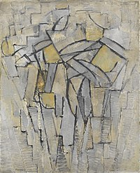 Composition No XIII - Composition 2, Piet Mondrian, 1913.jpg