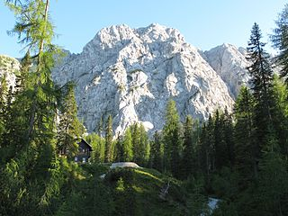 Reißkofel mountain in the Gailtal Alps in Carinthia