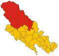 Comunità Montana dell'Alta Val di Vara-mappa 2008.png