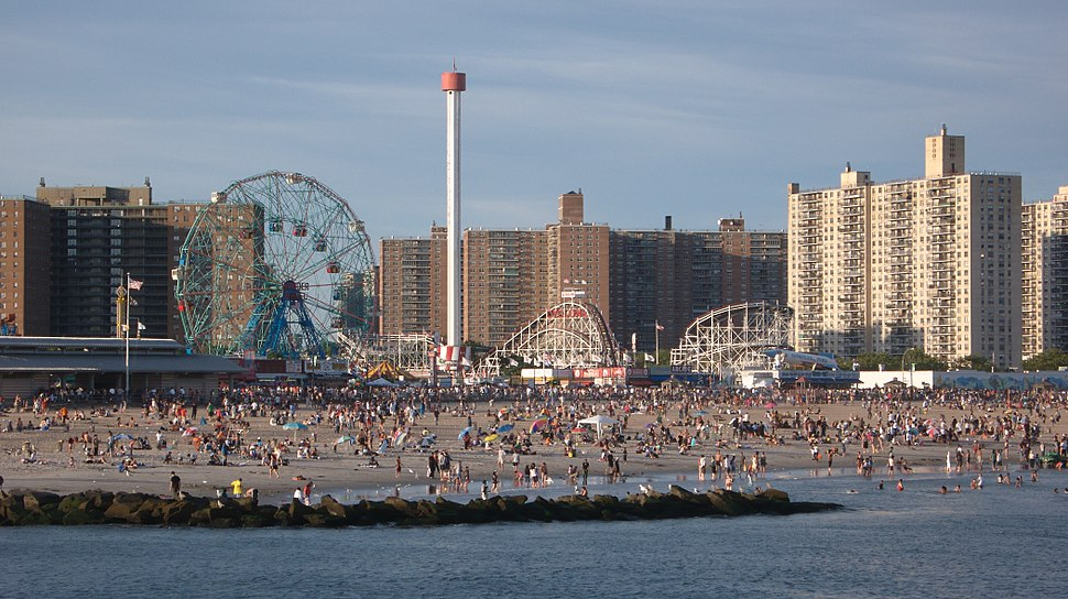 Coney Island Beach-1