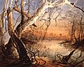 Confluence of the Fox River and the Wabash. Watercolor by Karl Bodmer 1832.jpg