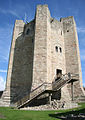 Conisbrough Castle keep - geograph.org.uk - 922015 crop.JPG