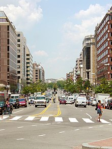 Connecticut Avenue NW facing north towards Dupont Circle.jpg
