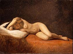 Constantin Hansen: Resting Model