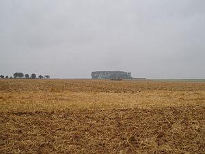 Contalmaison - fields in Contalmaison