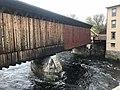 Contoocook Covered Railroad Bridge Staining.jpg