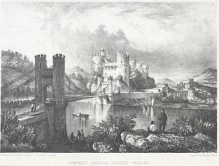 Conway Castle, North Wales