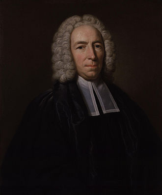 Conyers Middleton - A 1746 portrait of Conyers Middleton by John Giles Eccardt