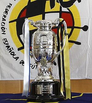 Copa Federación de España - Trophy given to the winner of the competition