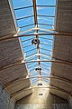 Copped Hall rackets court ceiling, Epping, Essex, England.jpg