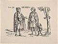 Copy of Natives of Arabia, from Set of Exotic Races, in Holzschnitte alter Meister gedruckt von den Originalstöcken der Sammlung Derschau im besitz des Staatlichen Kupferstich-kabinetts zu Berlin MET DP834172.jpg