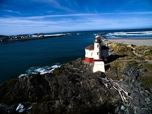 Bandon, Oregon - Coquille Lighthouse