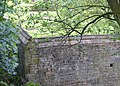 Corner of 16C wall, Kirklees estate, Clifton - geograph.org.uk - 177736.jpg