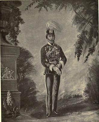 Evelyn Wood (British Army officer) - Cornet Wood, 1855