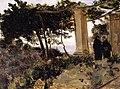 Corot - Amalfi - Monks in a Pergola, 1828.jpg