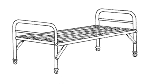 Camp bed - Camp bed