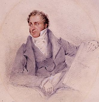 John Sell Cotman - self portrait