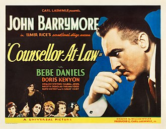 Counsellor at Law - original poster