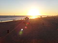 Course of the Force 2012 - sunset in Huntington Beach (14158160205).jpg