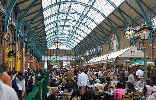 Covent Garden Interior May 2006