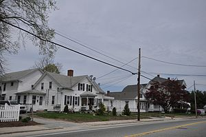 National Register of Historic Places listings in Kent County, Rhode Island - Image: Coventry RI Anthony Village HD1