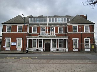 Crayford Urban District - Image: Crayford Town Hall geograph.org.uk 713812