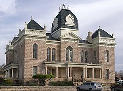 Crockett county courthouse 2009