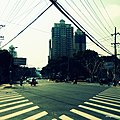 Cross over spot...on Huaihai Rd. - panoramio.jpg